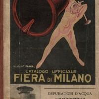 La copertina del catalogo della Fiera del 1924 realizzata dallo studio Magagnoli (Archivio Fondazione Fiera di Milano)