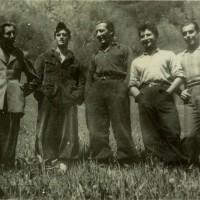 Fig. 17 Maggio 1944. Val Maira [Archivio Istoreto, fondo fotografico Fondazione solidarietà nazionale]