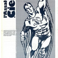 """1984 – Copertina di """"L'Assalto al Cielo"""", rivista della Fgci modenese. [art direction Elisabetta Ognibene/Kennedy's studios]"""