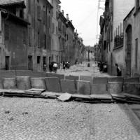 Barricate, borgo Bernabei, 1922