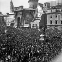 Primo anniversario della Liberazione, 25-04-1946