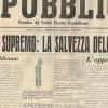 Fragilità del governo, violenza della precarietà: la Rsi in Toscana. Assistenza, mobilitazione bellica, propaganda sulla stampa della Repubblica sociale