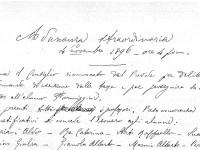 La punizione esemplare dello studente Formiggini nel 1896