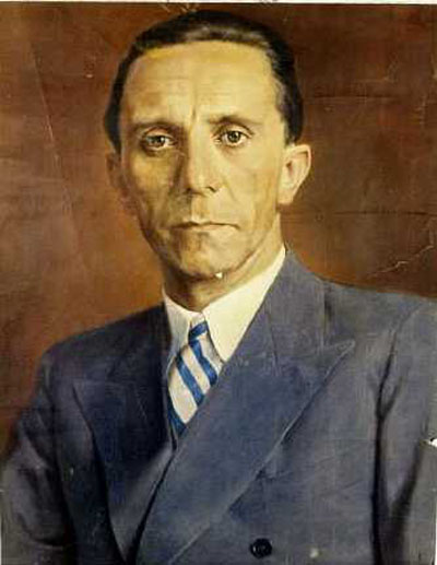 Wilhelm Otto Pitthan, Ritratto di Goebbels (1942)