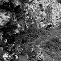 Fig. 2 Settembre 1944, partigiani in val Chisone [Archivio famiglia Serafino]