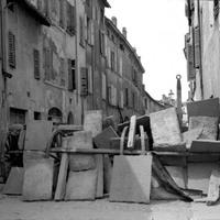 Barricate, borgo Santo Spirito, 1922